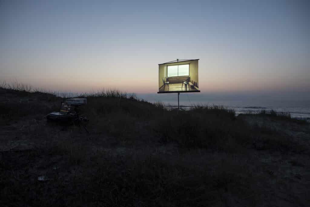 Le Signal - Appartement témoin/ Photographie numérique de l'installation/ Février 2019