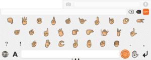 illustration alphabet des signes
