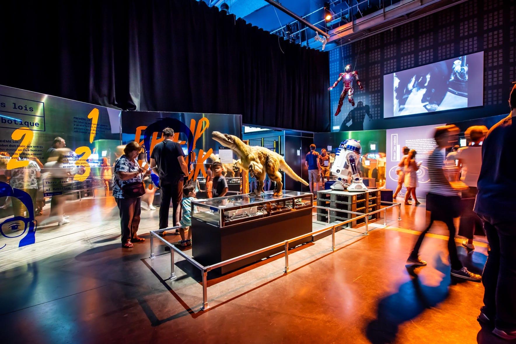 expo robots, crédit Cap sciences