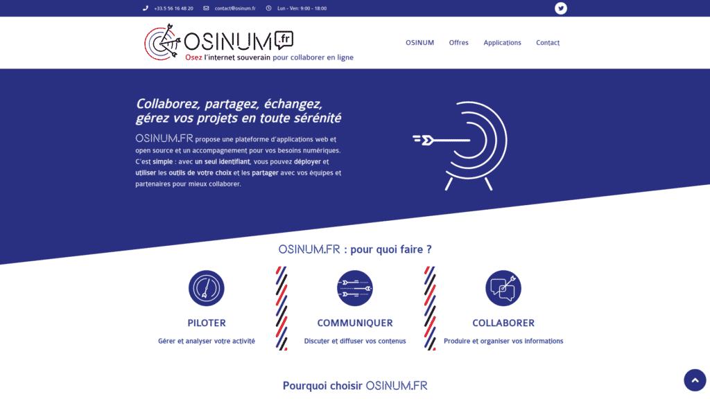 Site osinum.fr