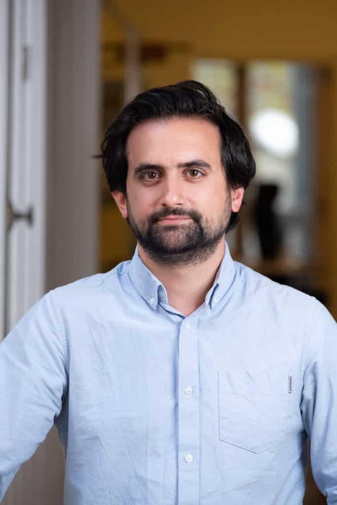 portrait de Benjamin Marteau, directeur de PIX
